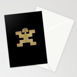 Pectoral Pre-Columbian Gold Piece Stationery Cards