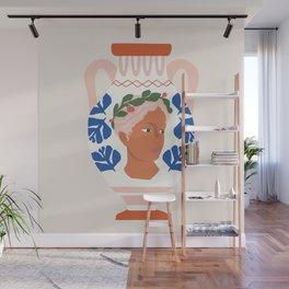 Greek Goddess Vase Wall Mural