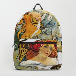 Alfons Mucha - Biscuit Lefeure-utile - Digital Remastered Edition Backpack