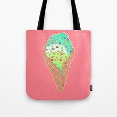 Neon Cones Tote Bag