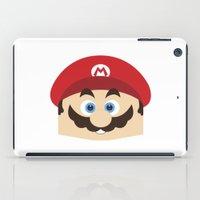 super mario iPad Cases featuring Super Mario by Xiao Twins