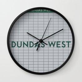 DUNDAS WEST | Subway Station Wall Clock