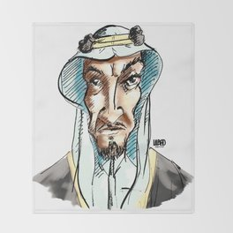 Classic Saudi Throw Blanket