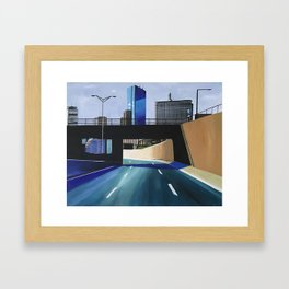 THE RIDE OUT Framed Art Print