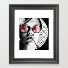 Lässig Zeug Framed Art Print