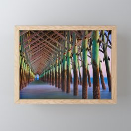 Under the Pier 1 Framed Mini Art Print