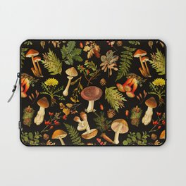 Vintage & Shabby Chic - Autumn Harvest Black Laptop Sleeve