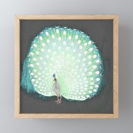 The tail that blinds. Framed Mini Art Print