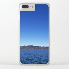 Lake jocassee Clear iPhone Case