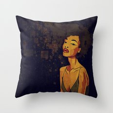 afro - Soul Throw Pillow