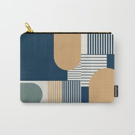 Cool Color Pallette Pattern Carry-All Pouch