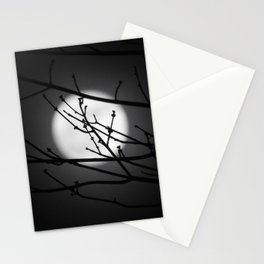 Moonbeams and Branches Stationery Cards