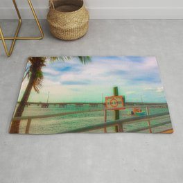 Slow Speed Manatee Zone Rug