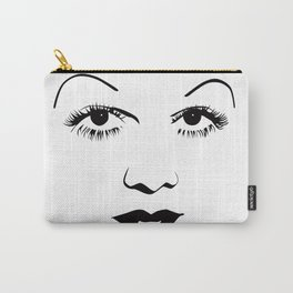 Old Hollywood - Jean Harlow Carry-All Pouch