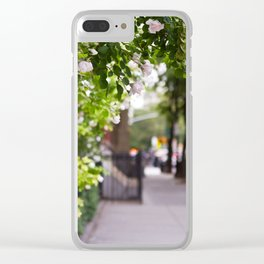 Friday Evening in the West Village Clear iPhone Case