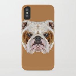 English Bulldog // Natural  iPhone Case