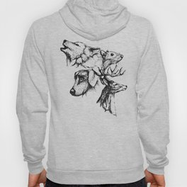 Moony Wormtail Padfoot Prongs Hoody