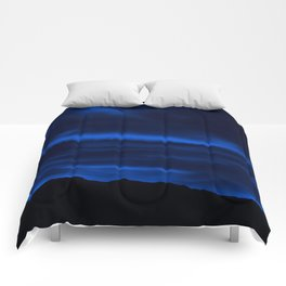 SW Midnight Blue Morning Comforters