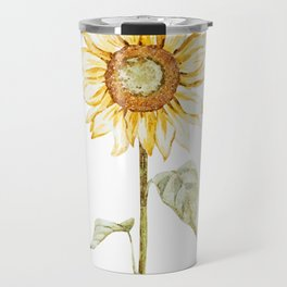 Sunflower 01 Travel Mug