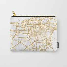 TEHRAN IRAN CITY STREET MAP ART Carry-All Pouch