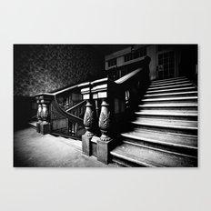 Come, follow me Canvas Print