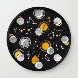 Great Total Solar Eclipse Wall Clock