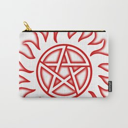 Anti Possession Sigil Red Glow Transp Carry-All Pouch