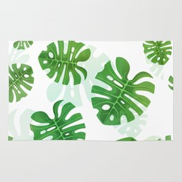 Tropical Vibes Collection: Monstera deliciosa II Rug