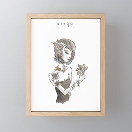 Virgo Framed Mini Art Print