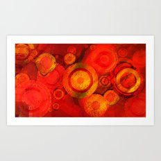 Circles One Art Print