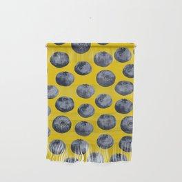 Blueberry pattern Wall Hanging
