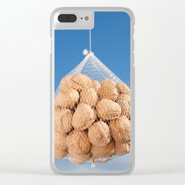 Bag of nuts Clear iPhone Case