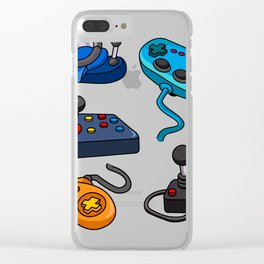 Video Game  Controls Clear iPhone Case