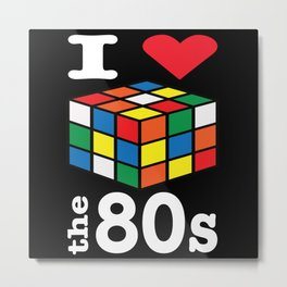 80s 80s Party 80s Fashion 80s Style Metal Print