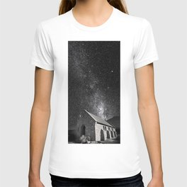 Church of the Good Shepherd under the stars. T-shirt