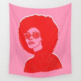 Kara Pink Wall Tapestry