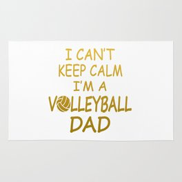 I'M A VOLLEYBALL DAD Rug
