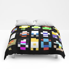 Minimalist undertale characters Comforters