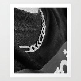 chain so cool Art Print