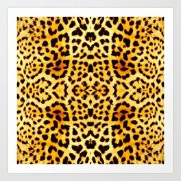 Cheetah Zeetah Art Print