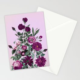 Romantic Garden III Stationery Cards