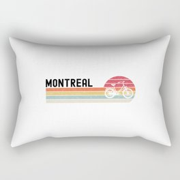 Montreal  TShirt Bicycle Shirt Bike Gift Idea Rectangular Pillow