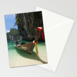 Hong island boat Stationery Cards