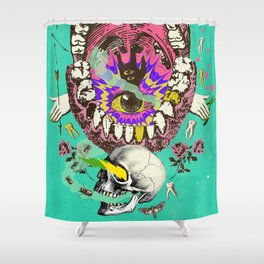 PSYCH MYSTERY Shower Curtain