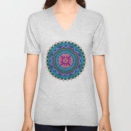 Meditation Mandala Unisex V-Neck