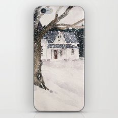February snow iPhone & iPod Skin