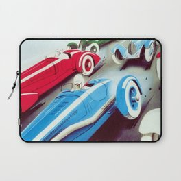1932 Vintage 24 Hours of Le Mans French Auto Racing Wall Decor Laptop Sleeve