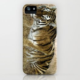 Ready to pounce. iPhone Case