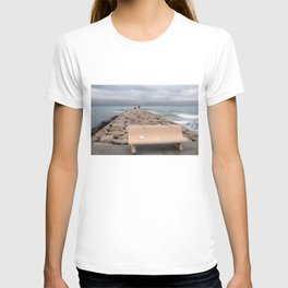 the storm moves away (Sitges) T-shirt