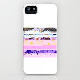 Daisy - Glitch Art iPhone Case